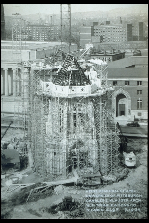 Heinz Memorial Chapel under construction