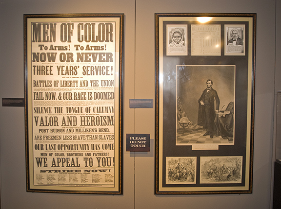 A portion of the Free at Last? Exhibition that was shown at the Heinz History Center from Oct. 2008 to April 2009