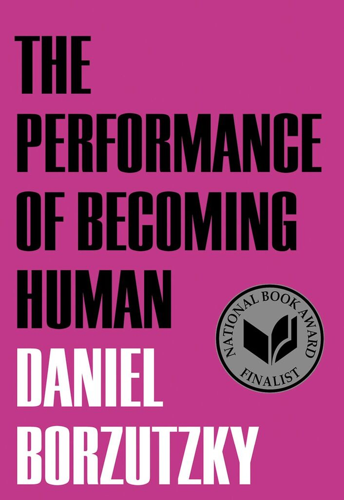 The Performance of Becoming Human, Book Cover